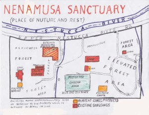 Map of Nenamusa